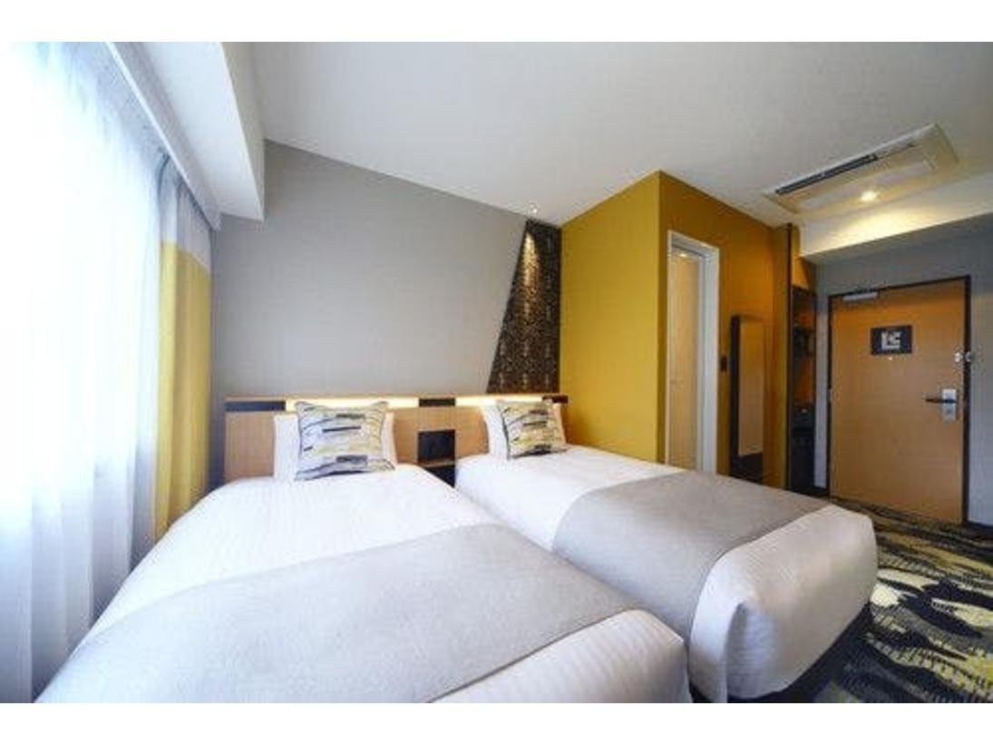 禁煙ツイン16平米 一例 デザインはお部屋によって異なります。