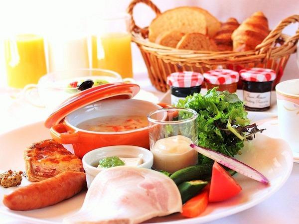 OPAスタイルのご朝食。
