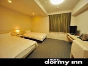 ◆ツインルーム 広さ:22平米 シングルベット100cm×195cm (2台)