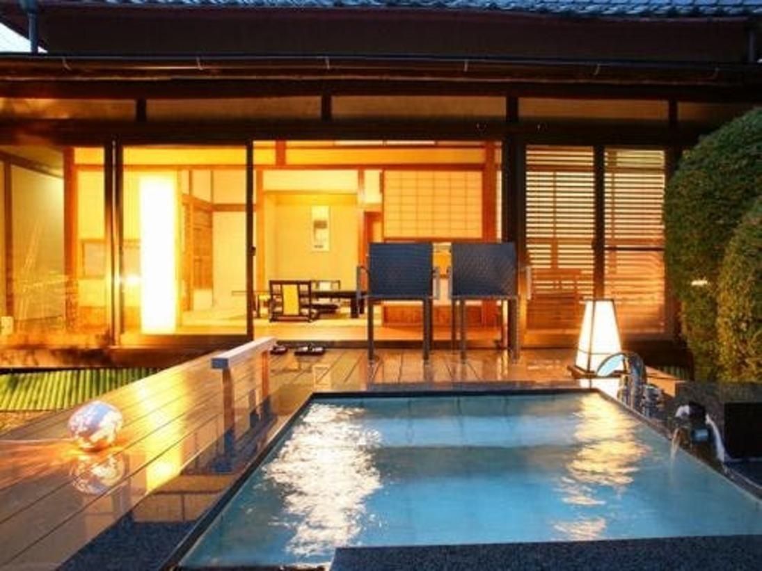 庭園露天風呂付客室 伊東「緑涌」