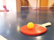 卓球場:1時間500円にて15:00~24:00まで利用可。
