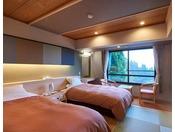 東館畳ツインのお部屋の一例