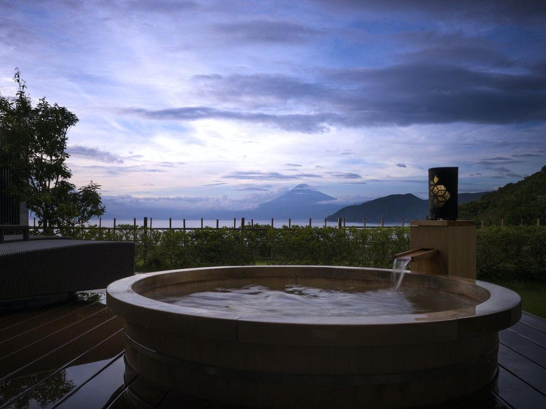 客室専用露天風呂の一例