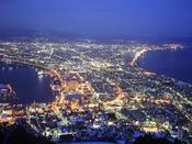 【景観】世界三大夜景の一つ。函館山からの夜景