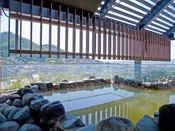 【露天風呂】函館の街並みを見下ろす露天風呂