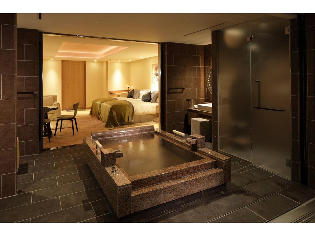 本館客室 温泉風呂