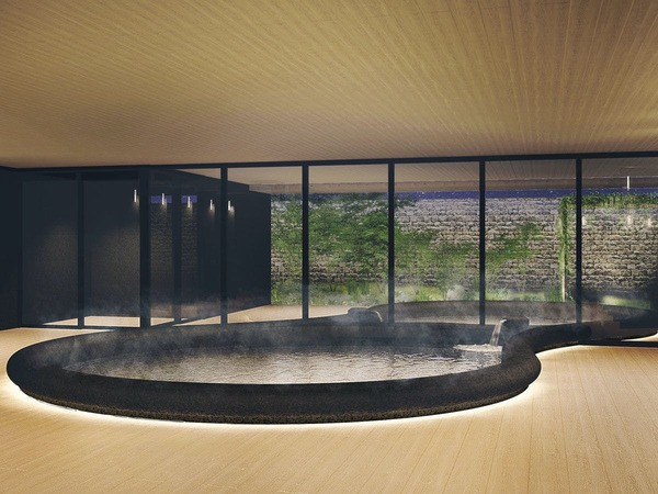 *【2階:庭園大浴場(イメージ)】