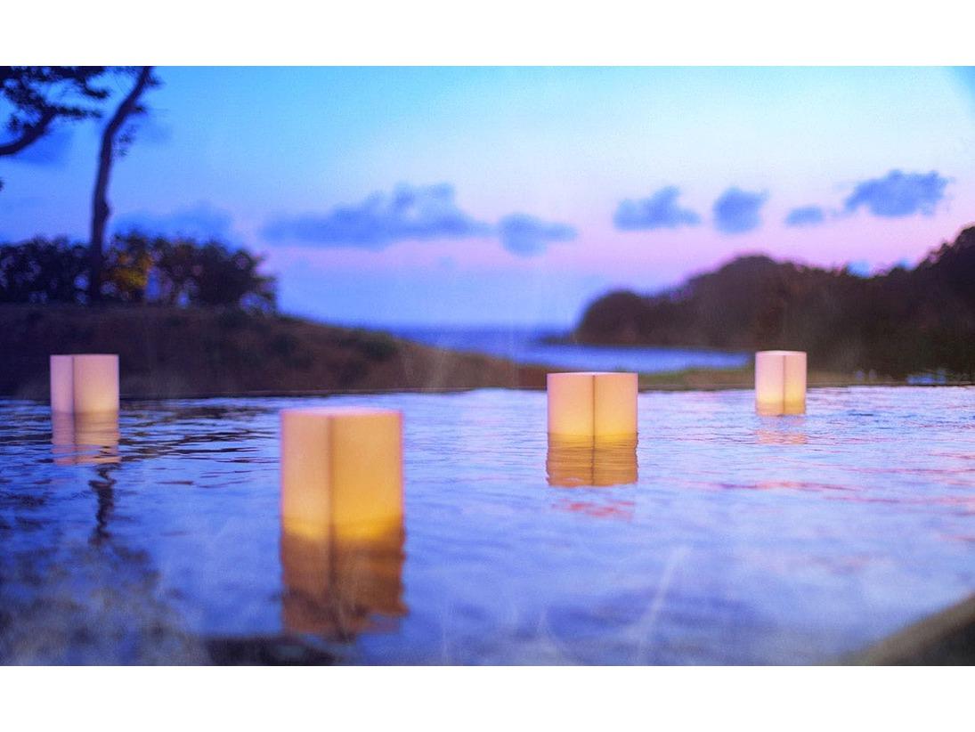 お風呂から海への無限の広がりをお楽しみください