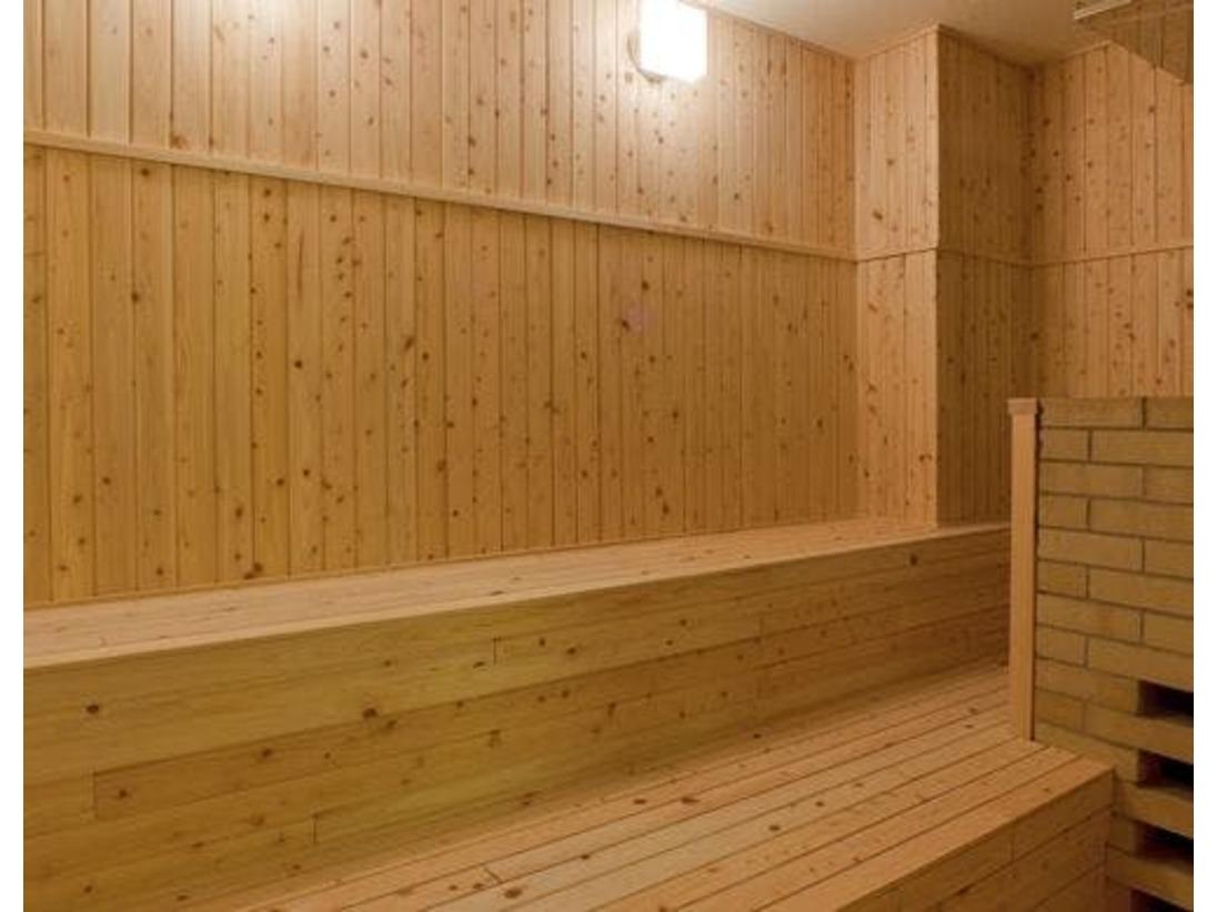 大浴場にはサウナも完備※夜のみ