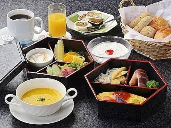 朝食・洋定食一例(レストラン食)