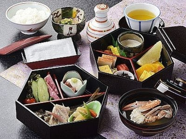 朝食・和定食一例(レストラン食)