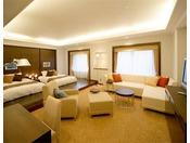 ジュニアスイートルーム 55平米客室最上階20階に位置するジュニアスイートルーム。