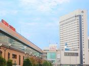 仙台駅西口より徒歩1分。ビジネスにも観光にも便利な立地です