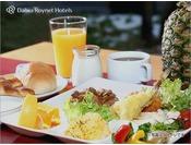 【朝食】和・洋・秋田名物など、約20種類のバラエティー豊かなバイキングです!