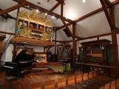 *【ホール・オブ・ホールズ】萌木の村オルゴール博物館では不定期でコンサートも行っております。