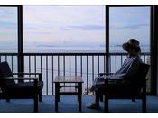 お部屋から見る瀬戸内海は美しい
