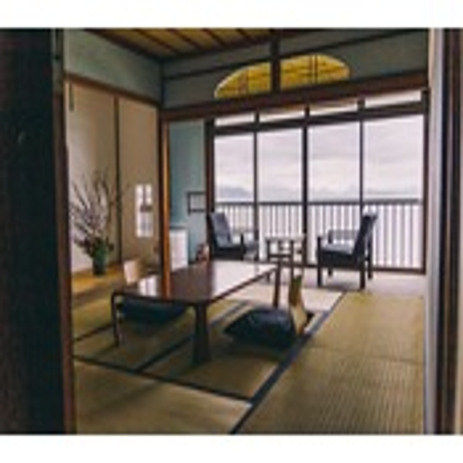 オーシャンビューの個室「Asagi」