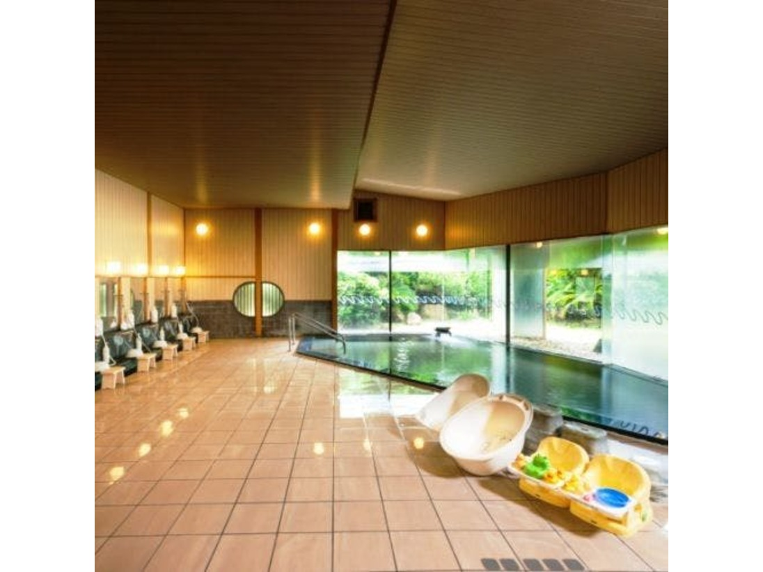 大浴場「鴨川温泉なぎさの湯」ベビーグッズもあり!