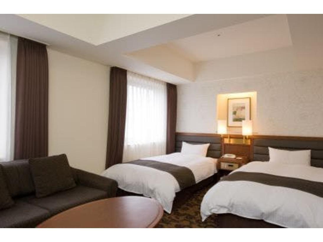 ツイン ベッド幅110センチ×2 30平米