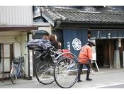 小江戸観光には欠かせない人力車