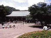 *喜多院パワースポットとして若い人の間でも人気。徳川家ゆかりのお寺。正月のダルマ市でも有名です。当館より徒歩約15分です。