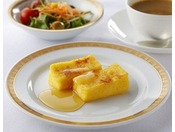 [朝食ブッフェ] ホテルオークラ札幌特製フレンチトースト