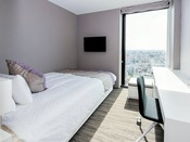 スーペリアダブル 16平米ダブルベッド(幅140センチ)×1台 20階~23階