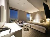 スーペリアツイン 24平米ベッドサイズ幅122センチ×2台※窓が1つの場合有。