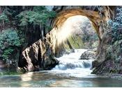 亀岩の洞窟(農溝の滝)
