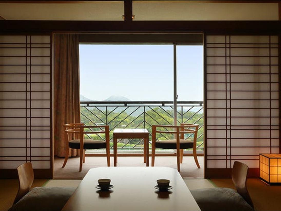 夕陽側和室☆窓からの景色