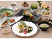 *和食 むさし野 夕食イメージ吟味された旬の素材を彩りよくこまやかに。ごゆっくりご堪能下さい。