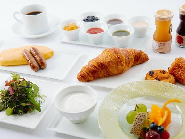 【朝食一例】こだわり素材の朝食