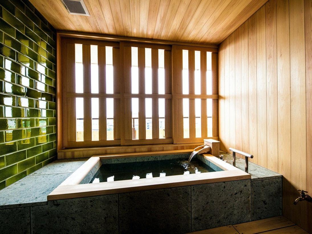 蘆庵 客室半露天風呂