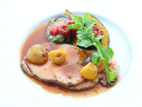*【ご夕食 グレードアップ 肉料理一例】