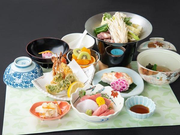 *お夕食一例「和食会席(7品)」