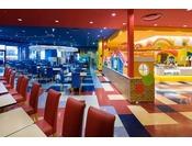 ホテル4階レストラン「イーポック」