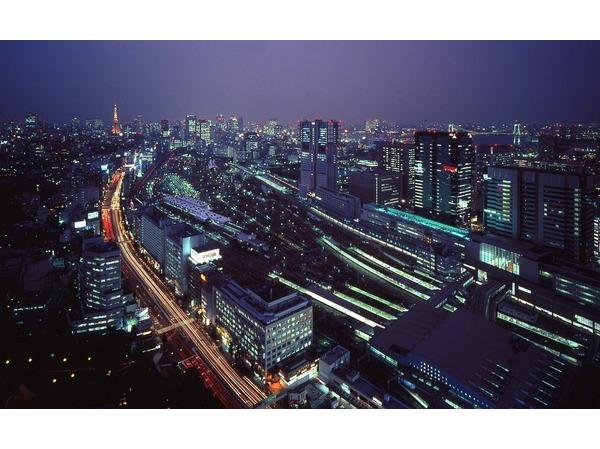 駅側の夜景(イメージ)