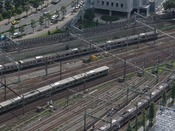 品川駅側には電車の見える客室も(眺望イメージ)