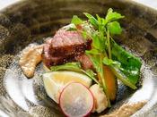 【夕食】豊後牛ステーキ/一例