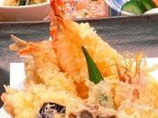 遊沙亭、天ぷら盛り合わせ