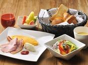 イーストタワー1F「カフェレストラン24」朝食イメージ