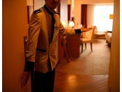 ご到着後はスタッフがお部屋までご案内致します。