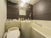 <ユニットバス>全室ウォシュレット機能付トイレ完備