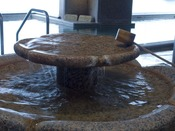 源泉100%の飲み湯も設けております