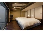アンティーク寝室