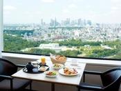 【朝食】絶景の朝食「TOWER BUFFET」地上144メートルから東京が一望できる都内屈指の絶景朝食ビュッフェ6:00-10:00 ガーデンタワー40階