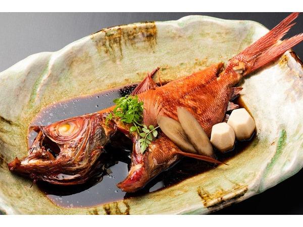 地金目鯛の煮付け(一例)