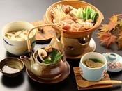 【秋季限定】松茸料理4品【松茸味わいコース】