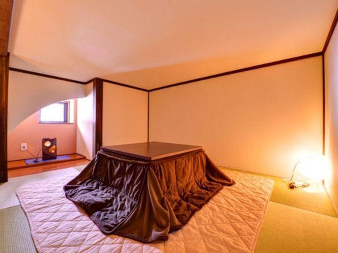 *野あざみ(客室一例)/和室2間とロフトが付いたお部屋。ゆったりと愉しむ大人の休日をお過ごし下さい。