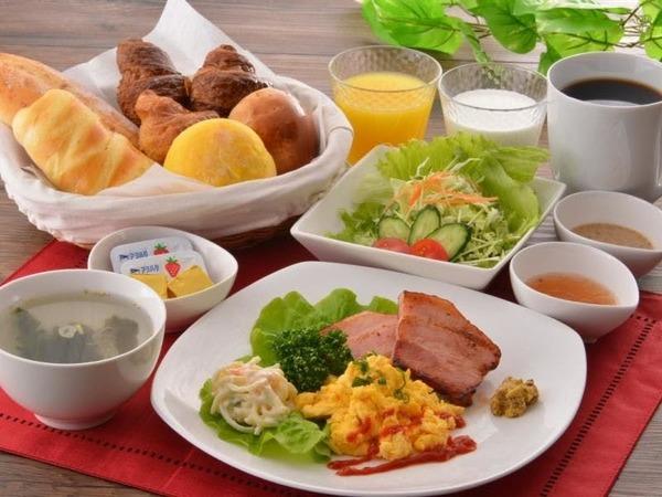 日替わりの朝食 洋食(イメージ)